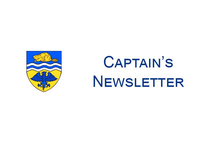 Captain's Newsletter 28th August